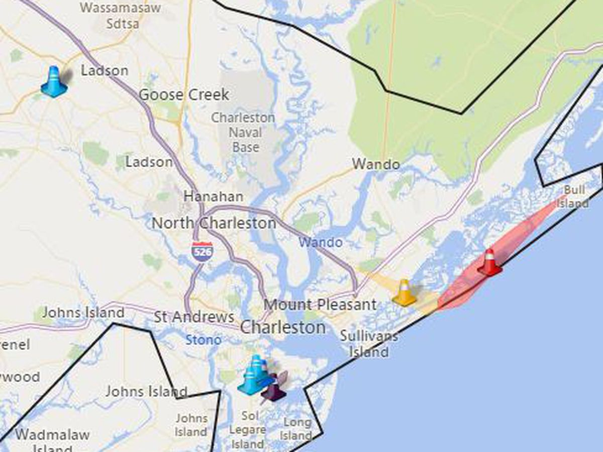 More than 2,500 Dominion Energy customers without power on IOP
