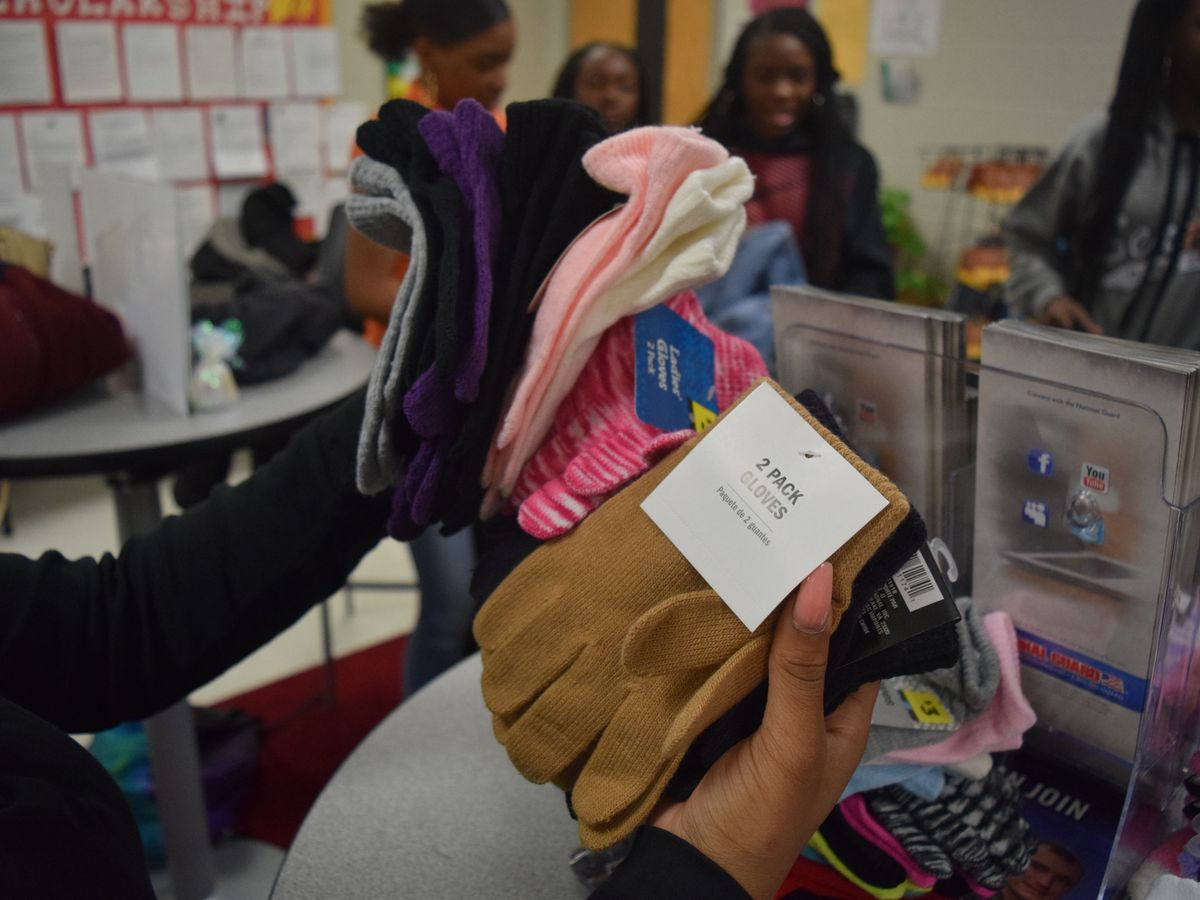 Bethune-Bowman High School students organize coat drive for those in need