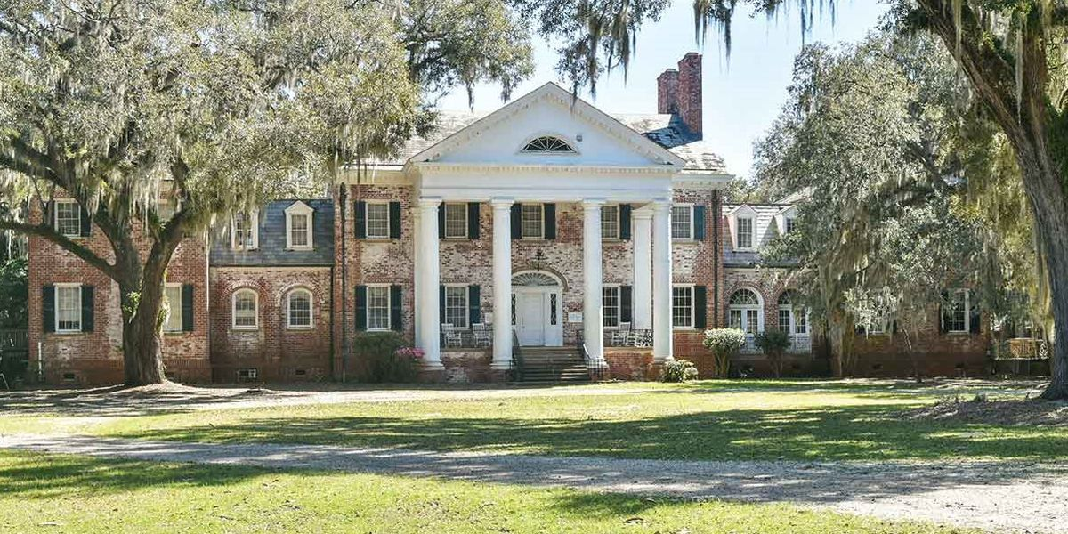 Historic mansion up for sale in South Carolina Lowcountry