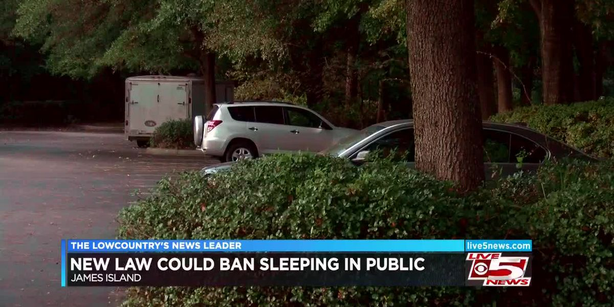 Decision postponed on proposal to make it illegal to sleep in public places on James Island