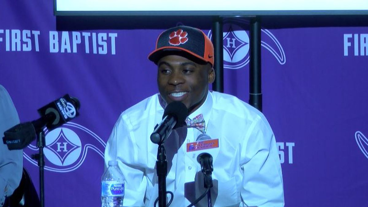 First Baptist's Dukes Commits to Clemson