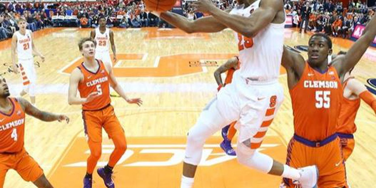 Clemson Drops Road Contest at Syracuse, 61-53