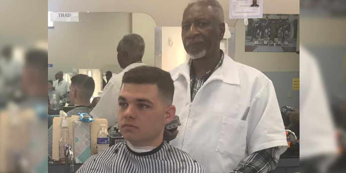 The Citadel's first African American barber recalls his journey at South Carolina's military college