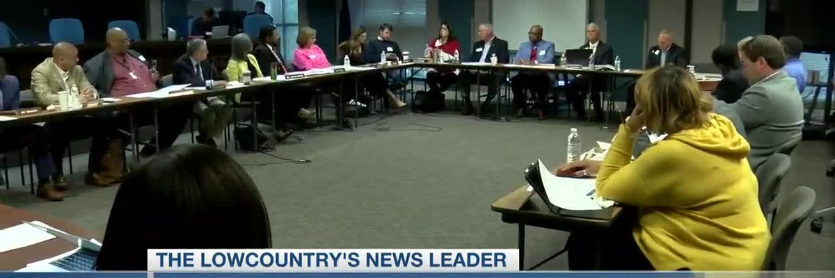 VIDEO: CCSD board members visit senators as bill to reshape how they're elected gets introduced