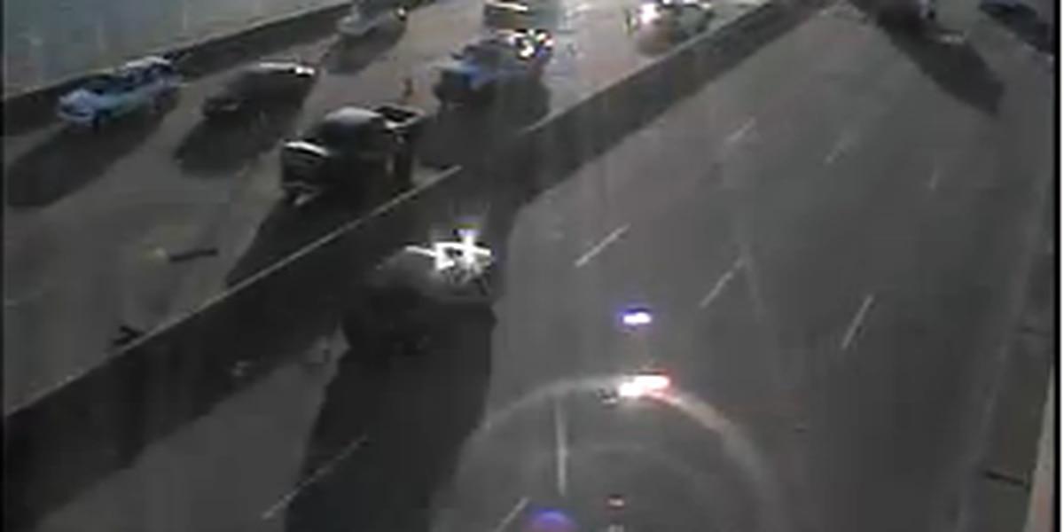 Emergency crews clear multi-vehicle wreck on Arthur Ravenel Jr. Bridge