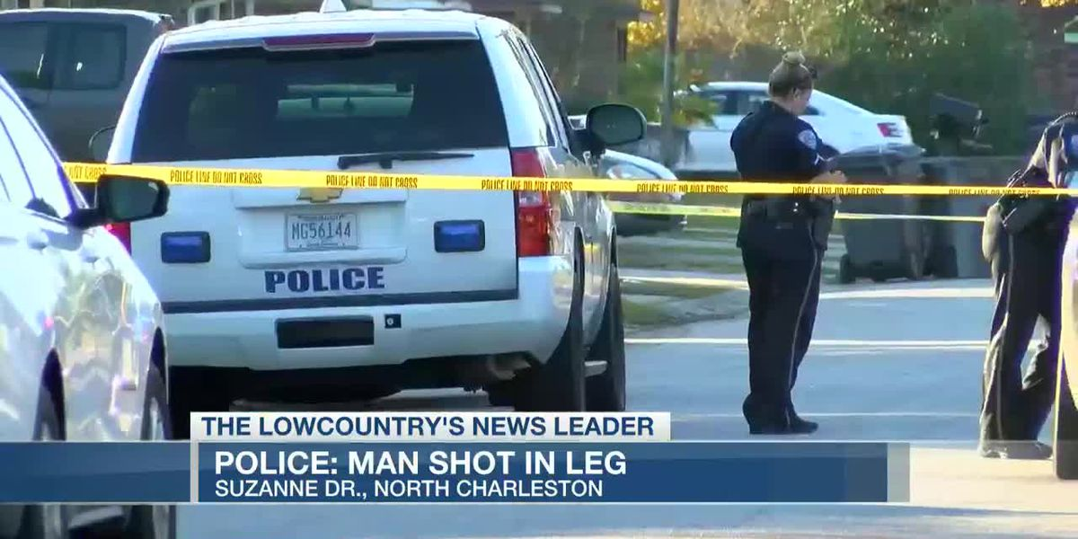 VIDEO: Police investigate after man shot in leg in North Charleston