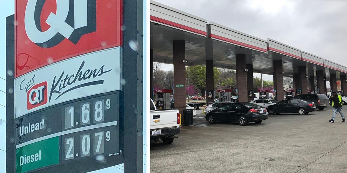 Gas prices keep plummeting amid coronavirus pandemic