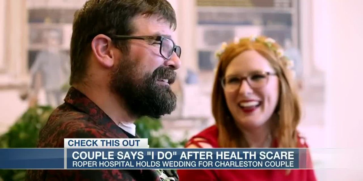 VIDEO: Hospital holds wedding for Charleston couple after health scare
