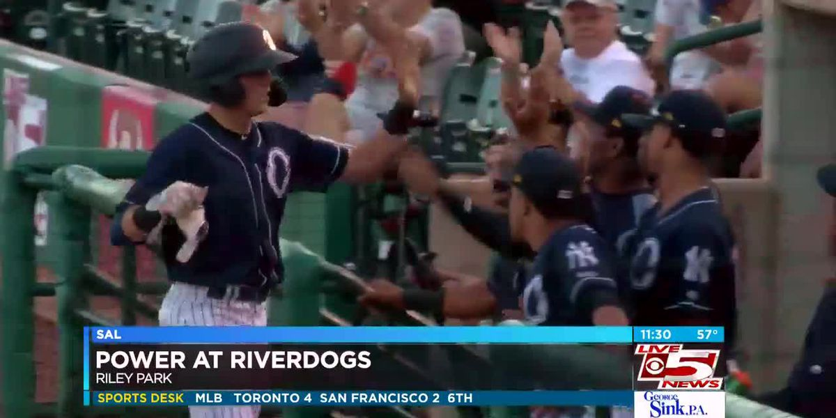 VIDEO: RiverDogs take series opener over West Virginia