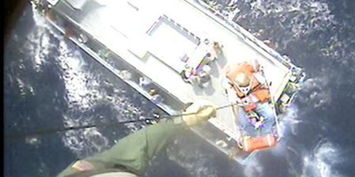 Coast Guard rescues 76-year-old man from charter vessel