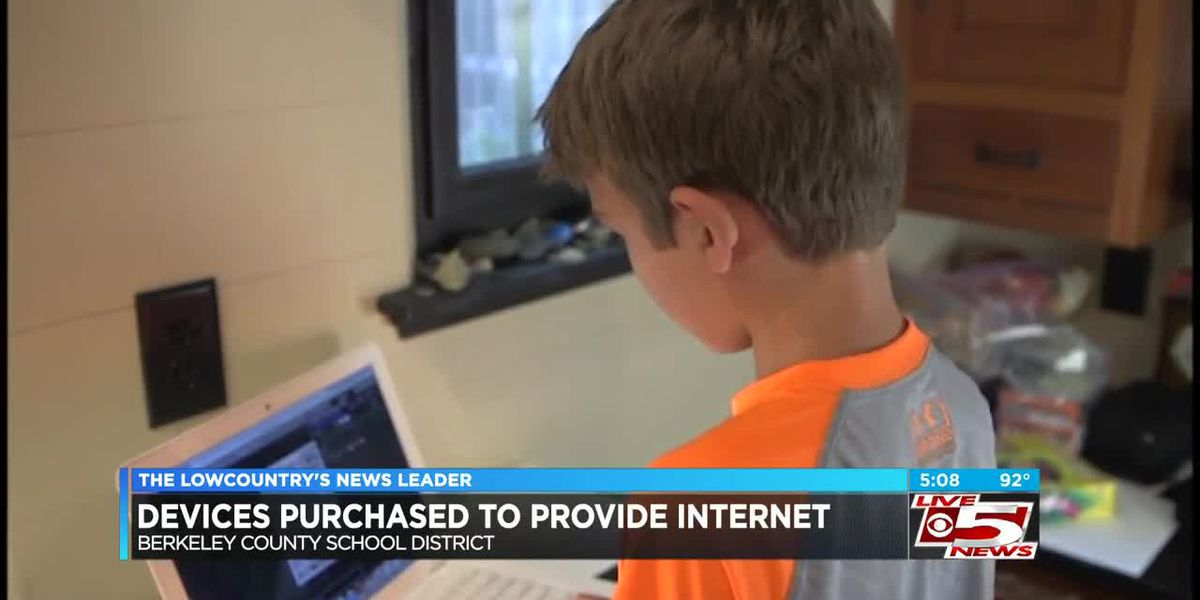 VIDEO: Hundreds of internet devices purchased for BCSD students