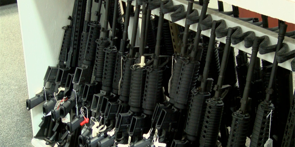 Locals react to chain stores removing sporting rifles from shelves