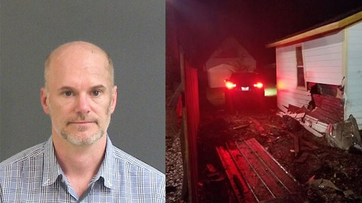 Deputies: Man charged with DUI after driving through yard, hitting shed on James Island