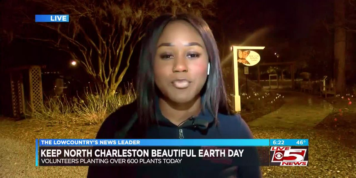 VIDEO: North Charleston group planting 600 flowers to celebrate Earth Day