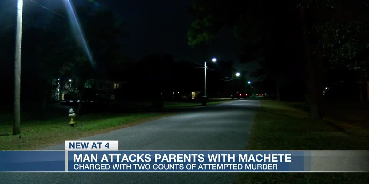 VIDEO: Police: Hanahan man partially severs parents' arms in machete attack on Thanksgiving Day