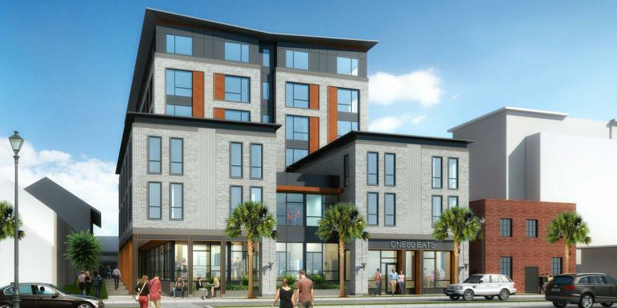 One80 Place asking for design approval for new multi-use building