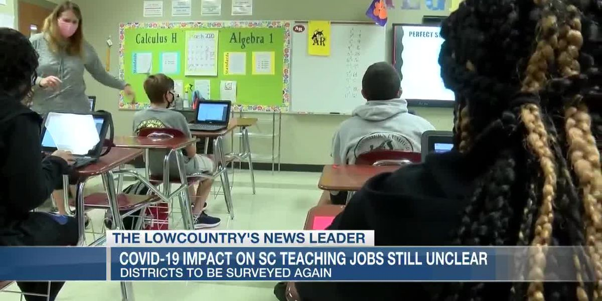 VIDEO: Report: COVID-19 impact on SC teaching jobs still unclear; districts to be surveyed again