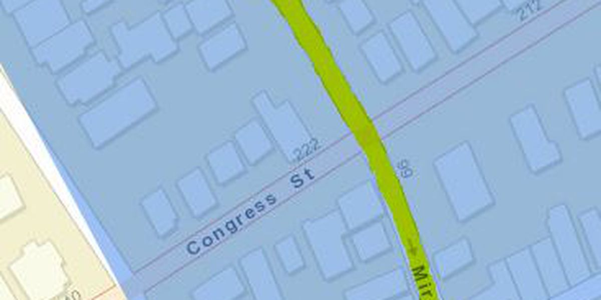 Several downtown Charleston streets under planned water outage