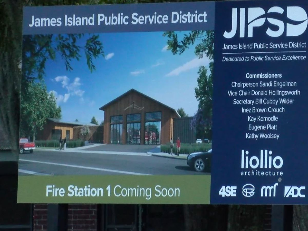 James Island, Charleston inch closer to moving boundary for new fire station