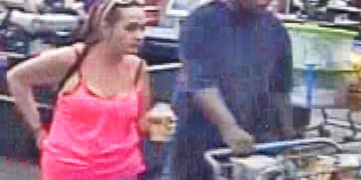 Wanted: Couple use stolen credit card to go on shopping spree in Summerville