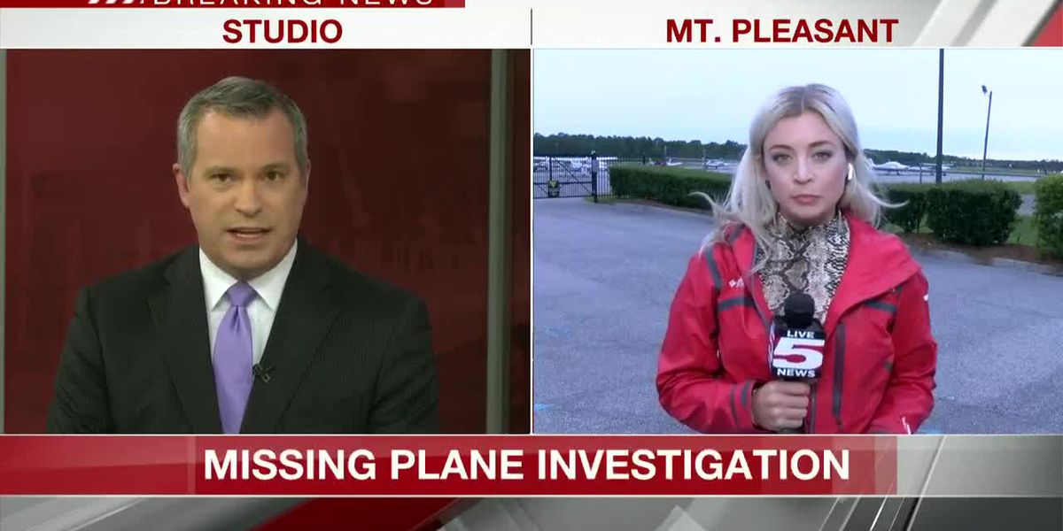 VIDEO: Crews spot possible wreckage of missing plane near Mt. Pleasant airport