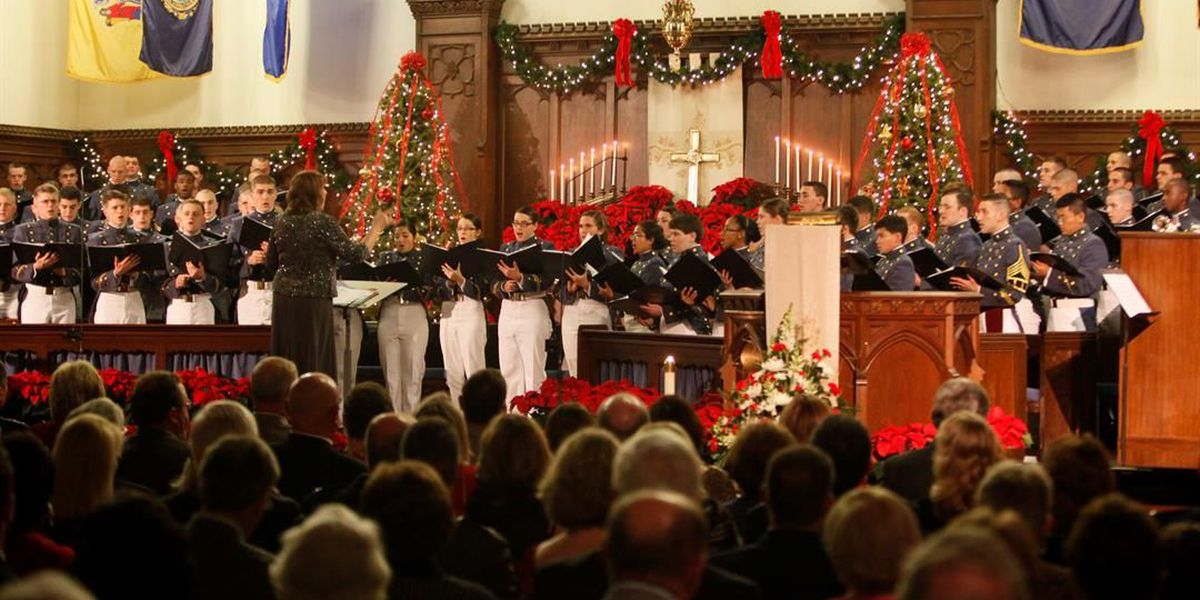 The Citadel's annual Christmas Candlelight service shortened to two days this year