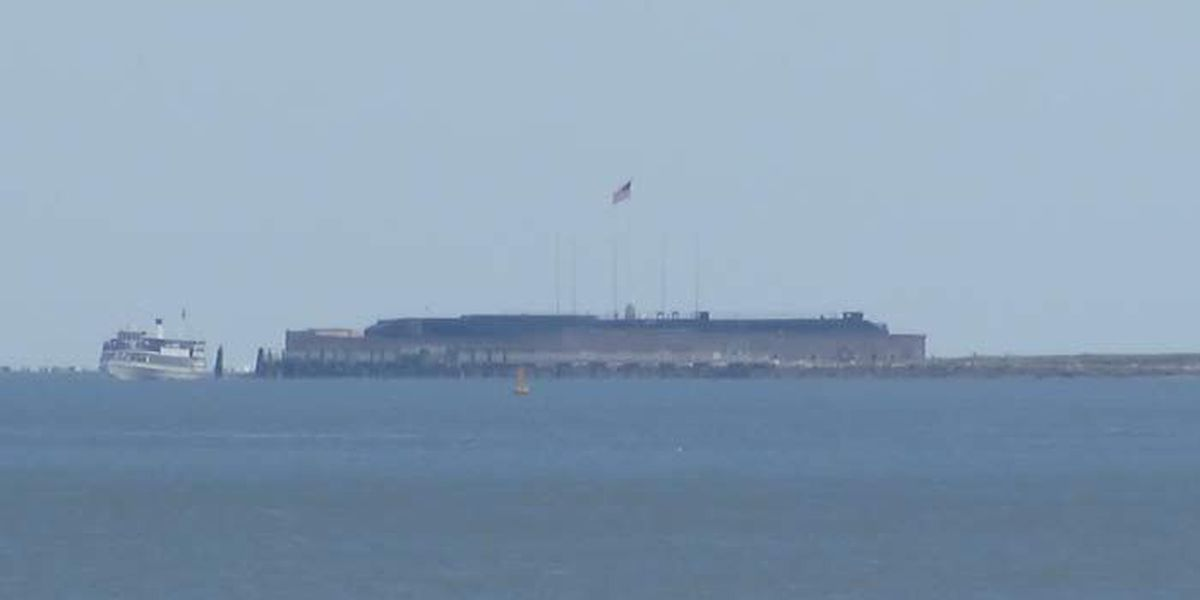 Officials at Fort Sumter announce modified historical flag display