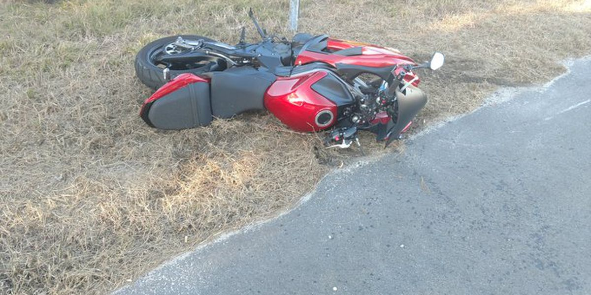 Highway 17 SB in McClellanville reopened following motorcycle, vehicle accident