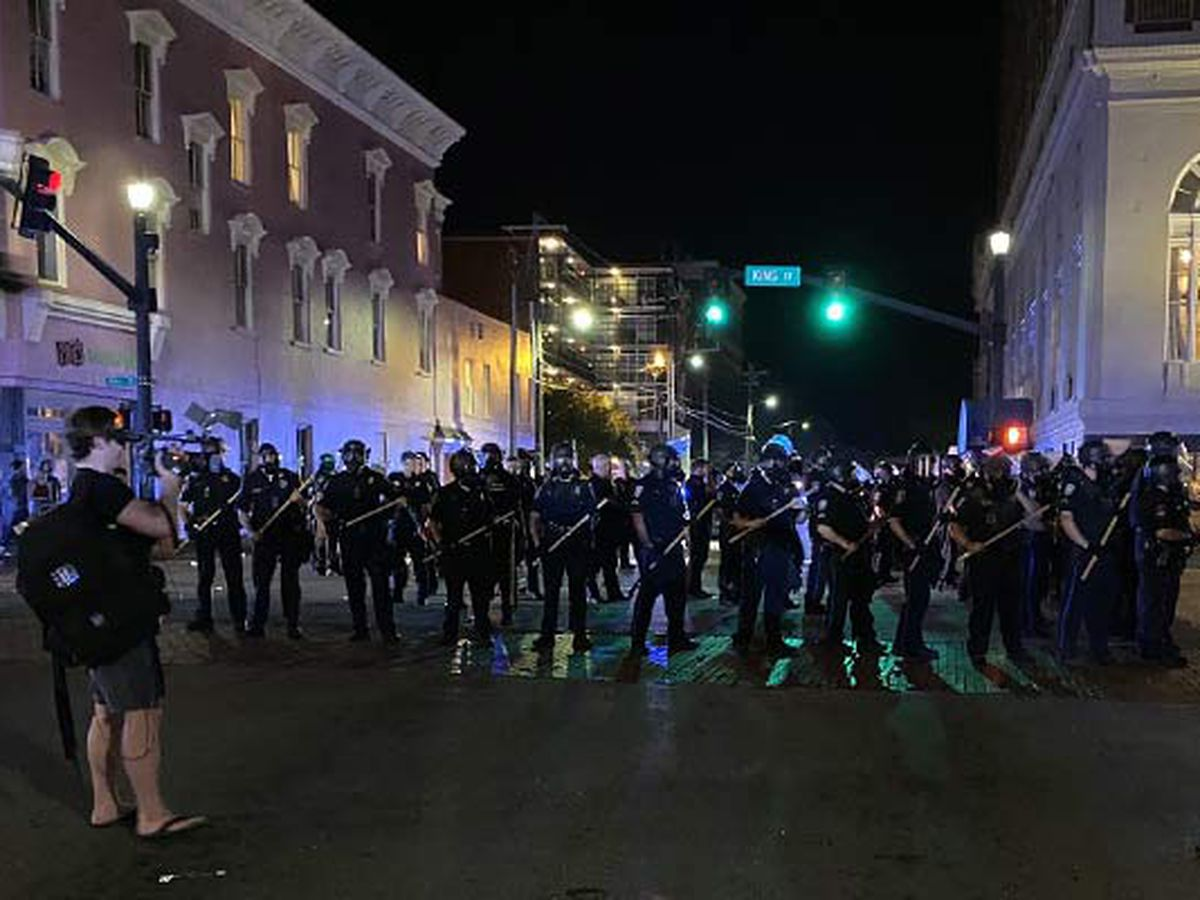 Overnight curfew ends in Charleston County following George Floyd protests