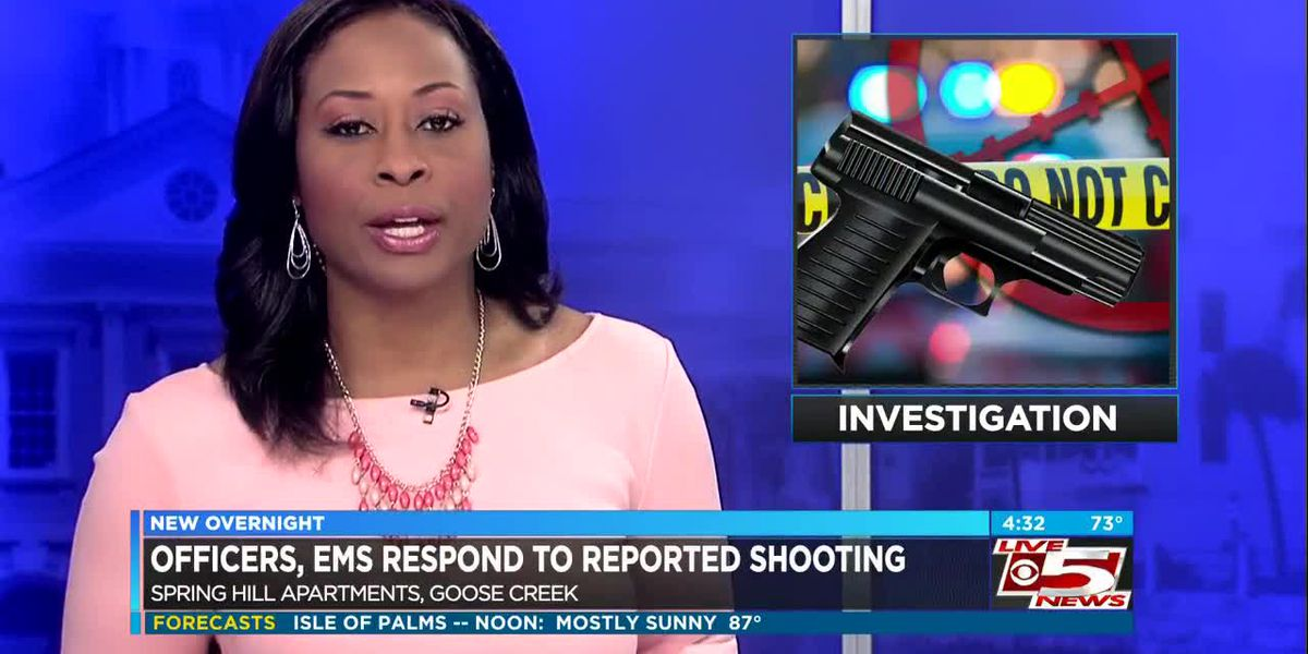 VIDEO: Deputies respond to reported shooting in Berkeley County