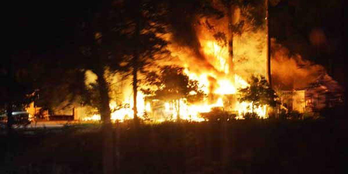 Colleton Co. workshop fire damages two homes, destroys truck