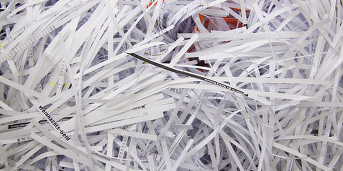 Free shred event being held to get rid of old documents