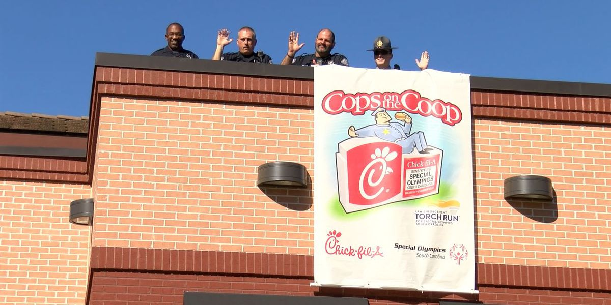 'Cops on the Coop' event to raise money for Special Olympics