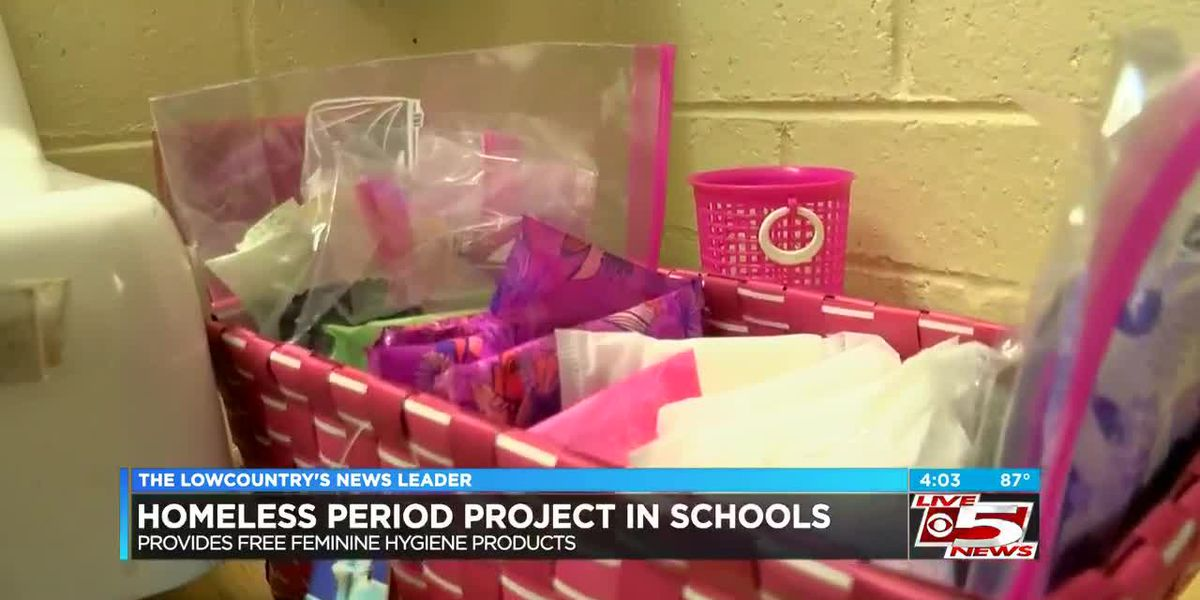 VIDEO: Homeless Period Project works to provide free hygiene products to students