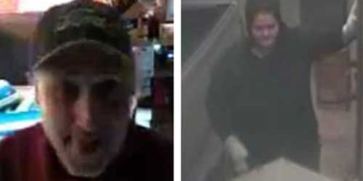 WANTED: Couple steals more than $1k worth of cigarettes from Ridgeville store