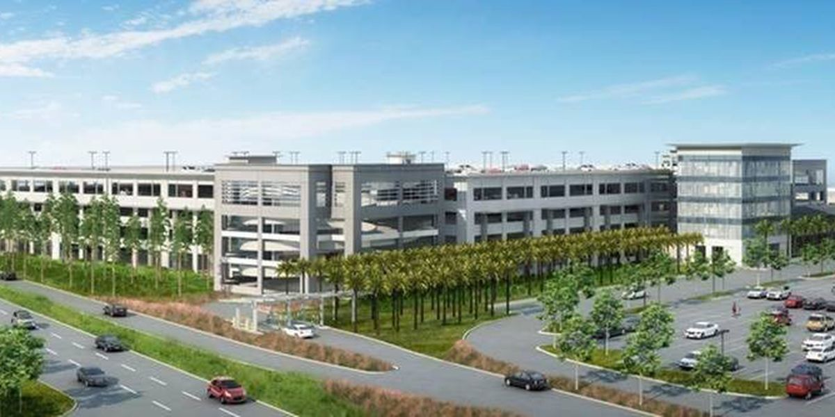 New Charleston airport parking garage will add more than 2,000 spaces