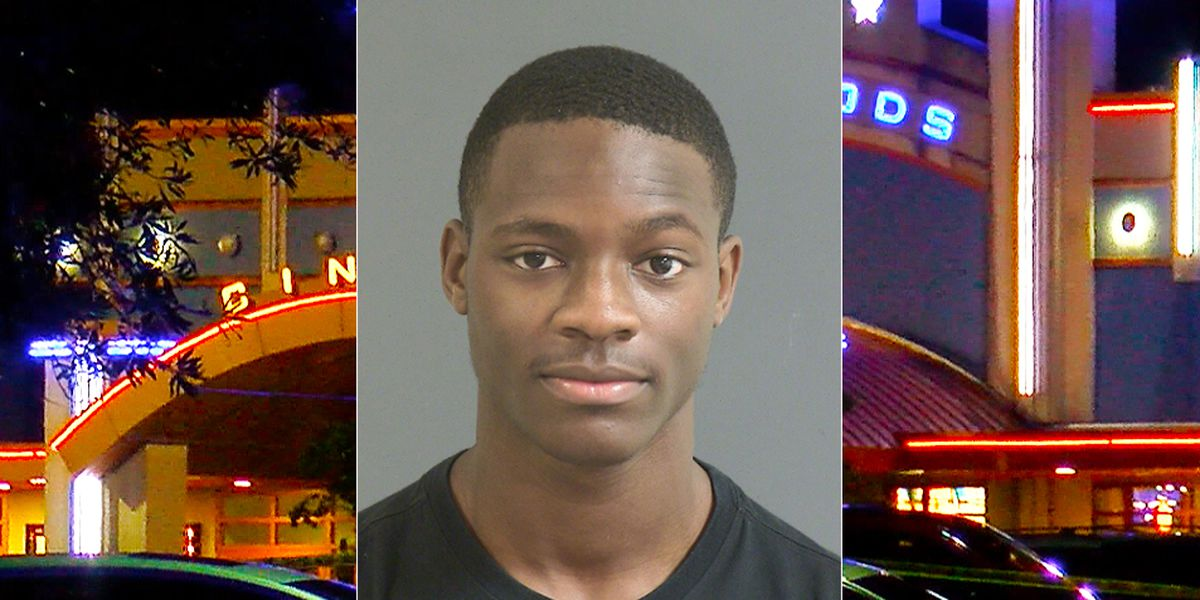 Man faces multiple charges in fatal shooting at Northwoods Mall theater parking lot