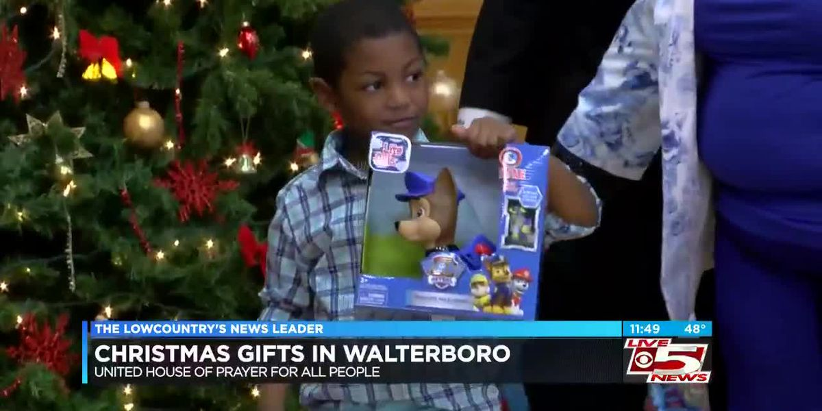 VIDEO: Walterboro church members give back to community children