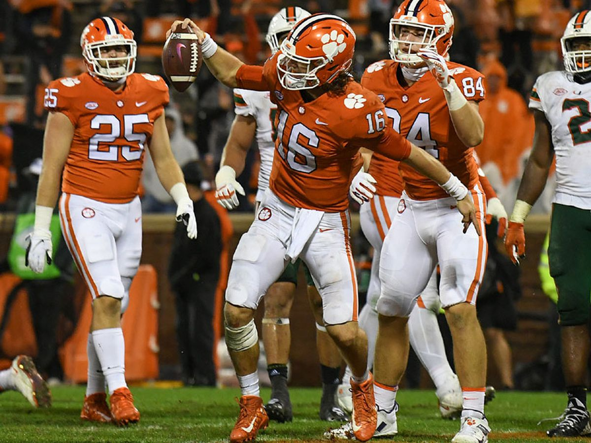 Lawrence, Rodgers Win ACC Weekly Honors