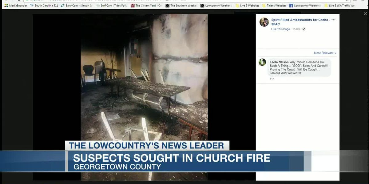 VIDEO: Georgetown County church seeks answers after fires set throughout building