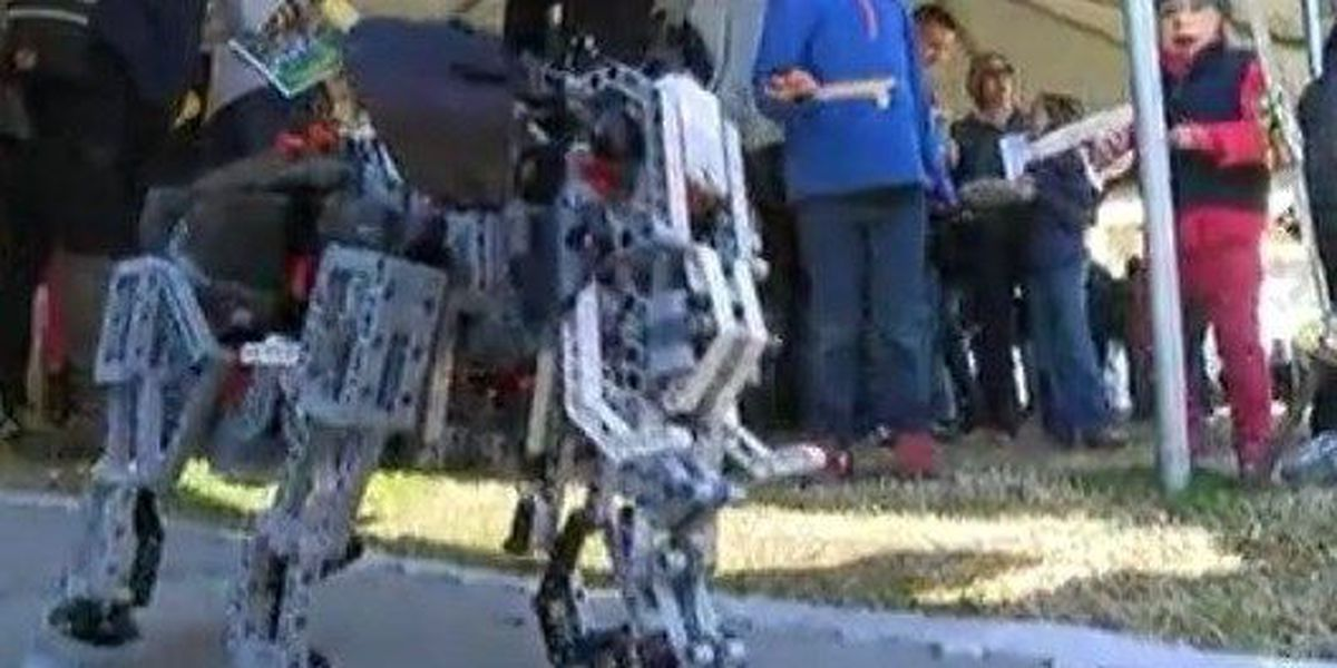 Charleston hosts a day of STEM learning and competition