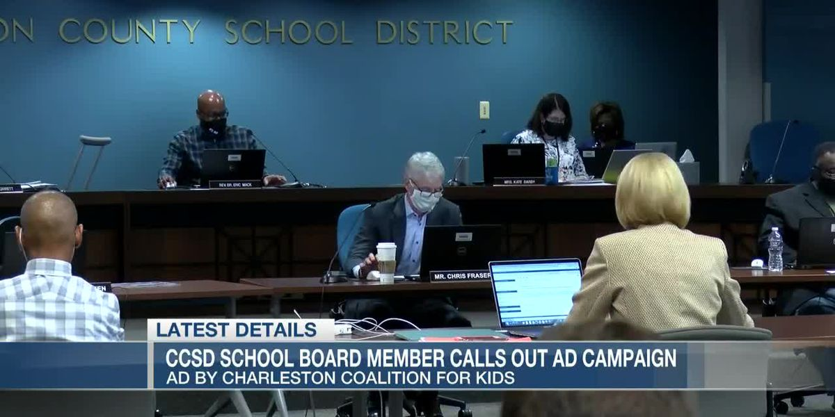 VIDEO: 2nd Charleston Co. School Board member pushing back against ad campaign