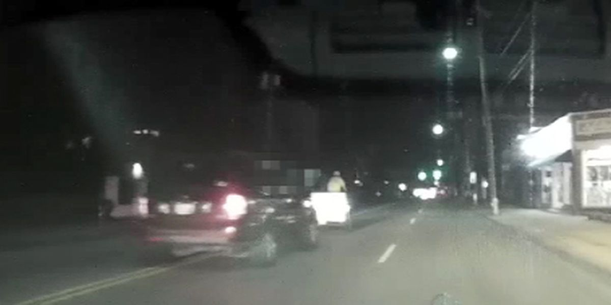 Woman charged with DUI after video shows SUV striking bike taxi in Charleston