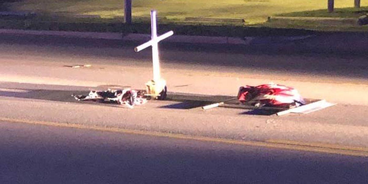 Fire Chief: Vandalism at Charleston 9 firefighter memorial 'heinous, disgusting'