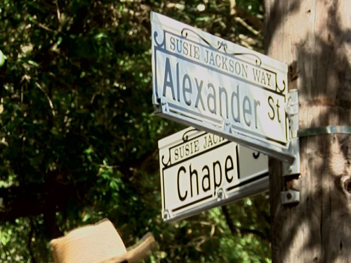 Street, garden named to honor 87-year-old church shooting victim