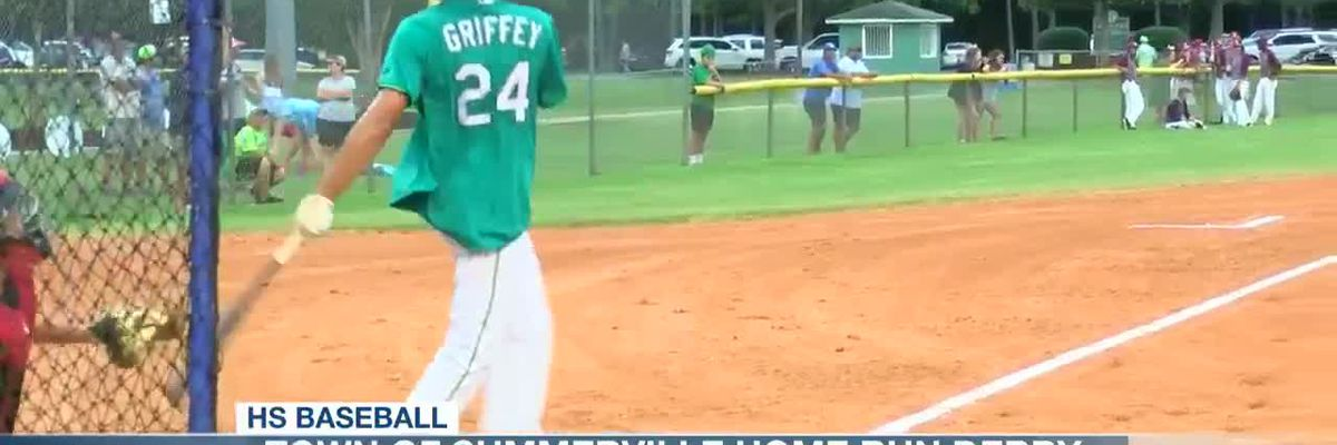 VIDEO: Brody Hopkins wins Town of Summerville Home Run Derby