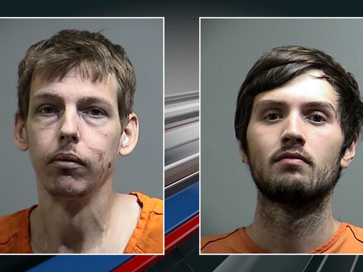 Two men arrested after deputies recover nearly 80 golf clubs, drugs