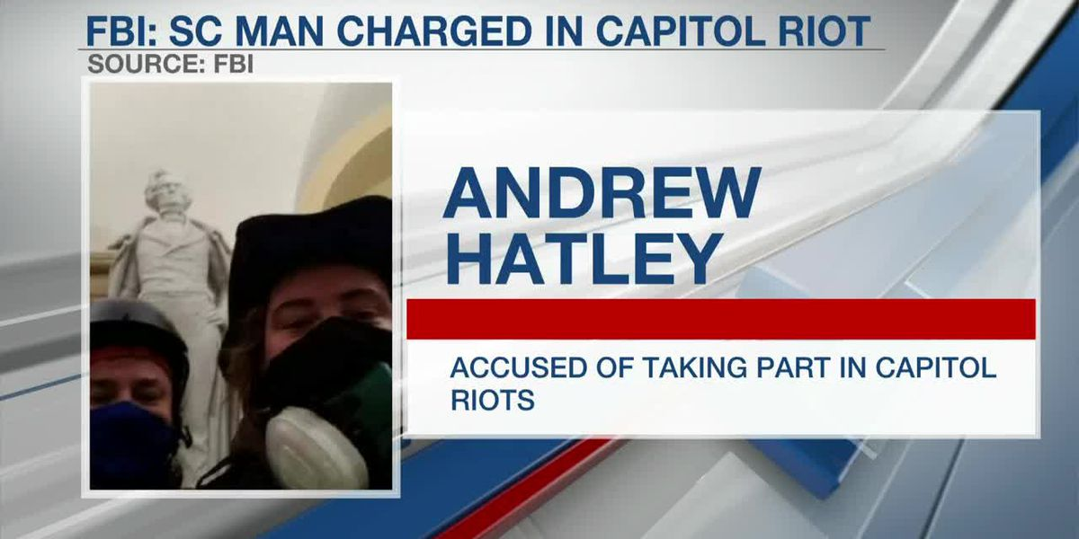 VIDEO: FBI: SC man wanted for role in Capitol insurrection