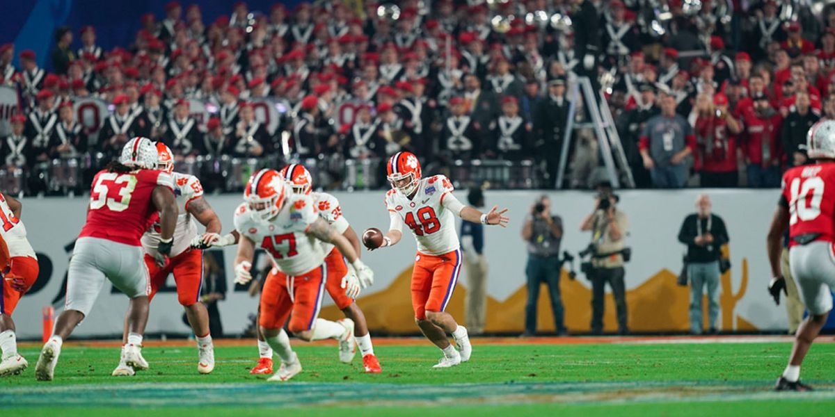 Clemson punter Spiers 'blessed' to be a part of Tigers' playoff runs
