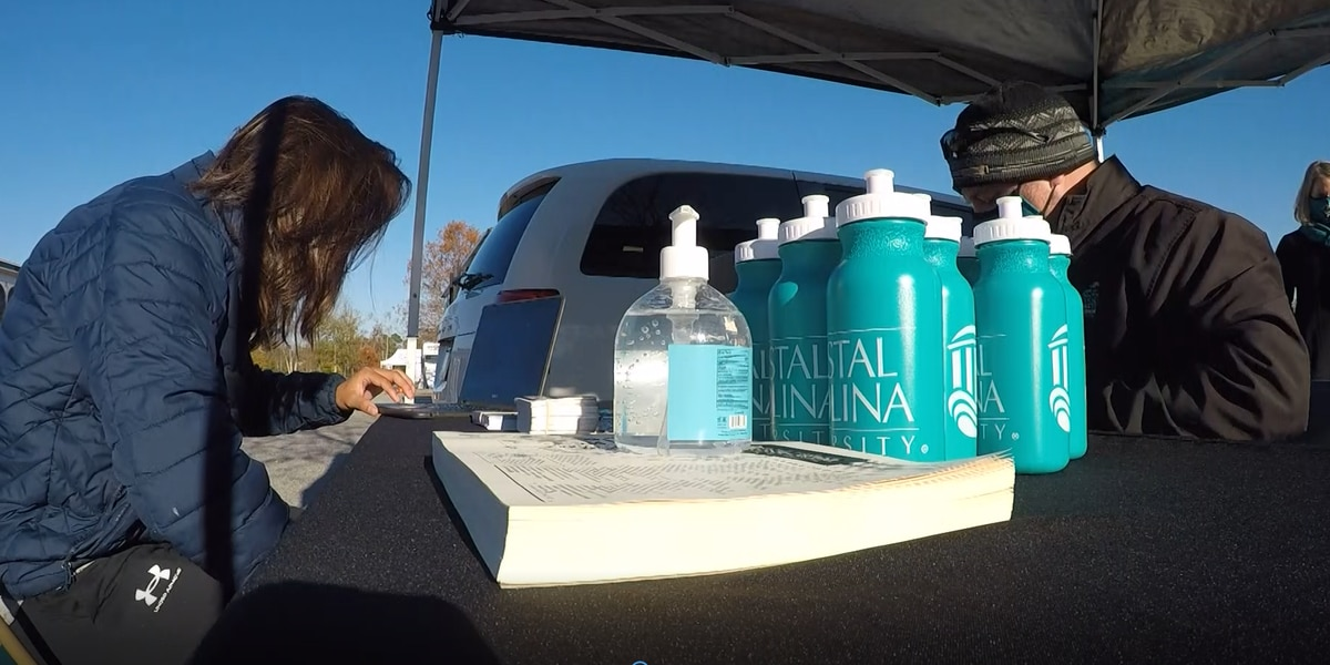 Is a degree on the menu? Coastal Carolina University hosts drive-thru application event